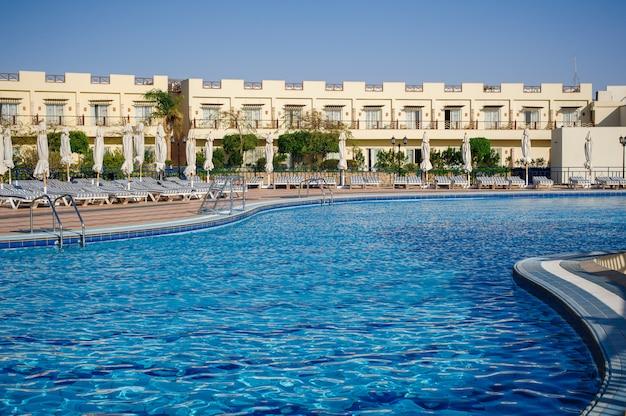 Egypt pool hotel