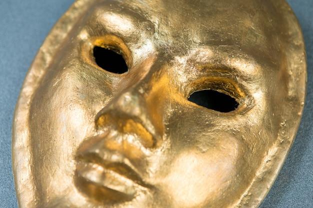 Egyptian golden mask, venetian carnival mask