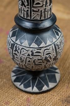 エジプトの花瓶、エジプトのお土産、象形文字