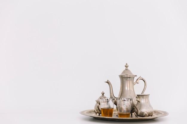 Eid al-fitr concept with tea