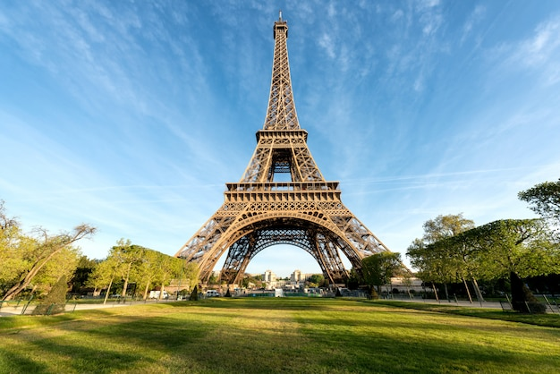 Eiffel tower is famous and best destinations in paris and france.