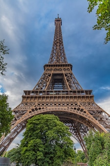 The eiffel tower symbol of paris, france
