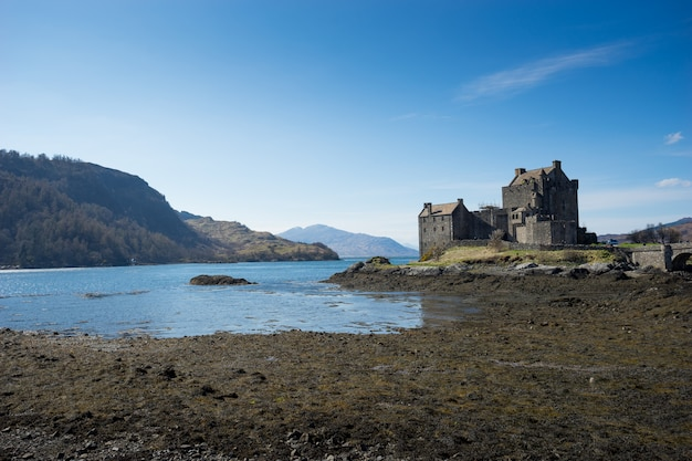 Эйлин донан замок, шотландия, остров, скай