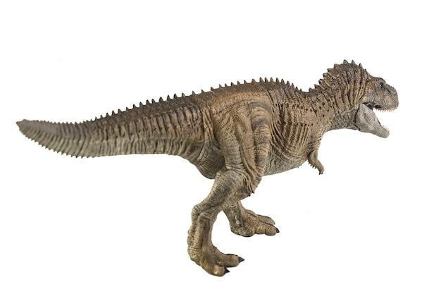 Ekrixinatosaurus epitaph dinosaur on white background .