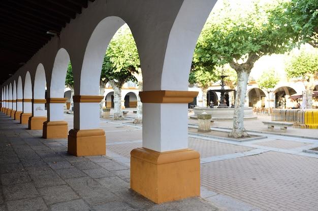 El buen alcade square of ciudad rodrigo, salamanca province, castilla leon, spain