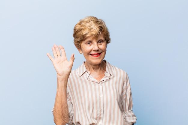 高齢者の美しい女性の肖像画
