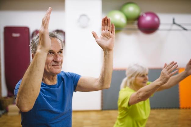 Elderly people training