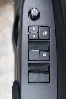 Electric button window car