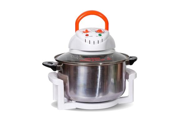 ステンレス鍋容器が付いている電気対流オーブン