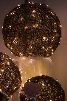 Электрическая гирлянда, красивые декоративные проволочные бусины в качестве украшения для праздника, электрические, электрические, блеск, свет, свечение, мировое общество