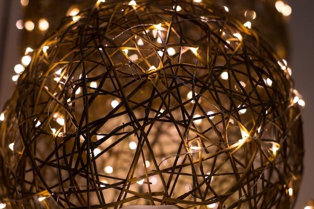 전기 화환, 휴일, 전기, 전기, 광택, 빛, 글로우, 세계 사회 컬러 샤인 글로우 방사 빔 반짝이 와이어 도체 램프 전구 튜브 장식으로 아름다운 장식 와이어 구슬