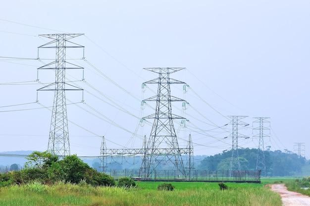 Электростанция высокого напряжения
