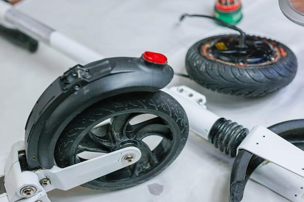 Electric motor repair electric scooter wheel ecofriendly electric vehicle repair service