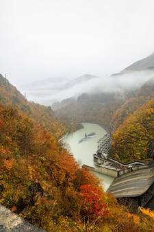 Плотина электроэнергии в японии