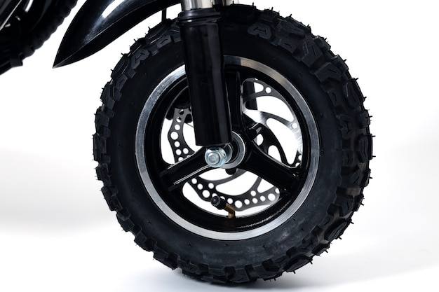 화이트에 타이어 보 행 전기 스쿠터 휠