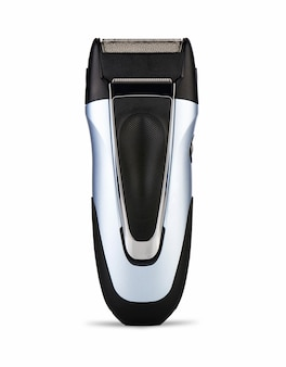 Electric shaver on white