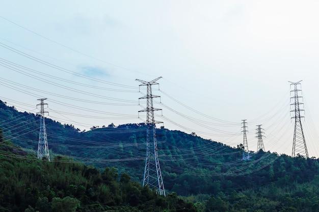 Электрическая башня, производство электроэнергии
