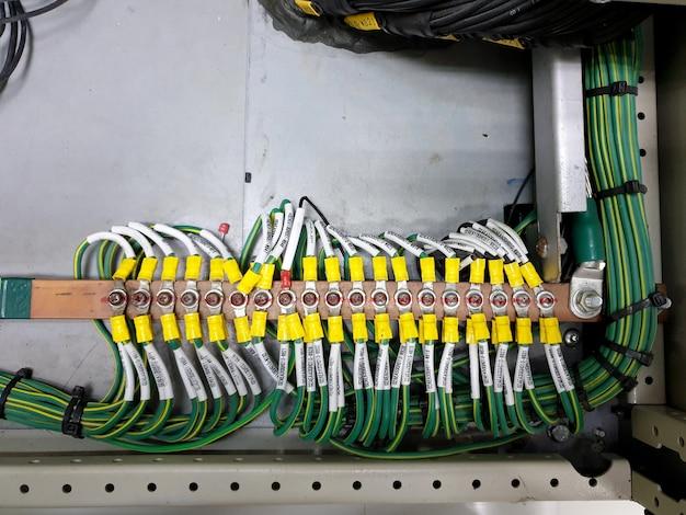 115kv制御および保護パネルの電気接地