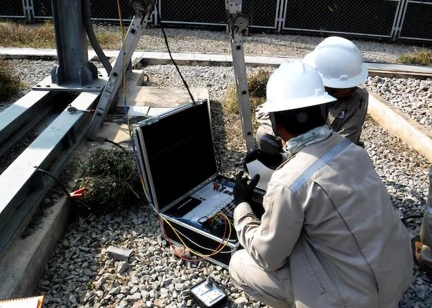 Профилактическое электрическое обслуживание испытание выключателя 115 кв на объекте