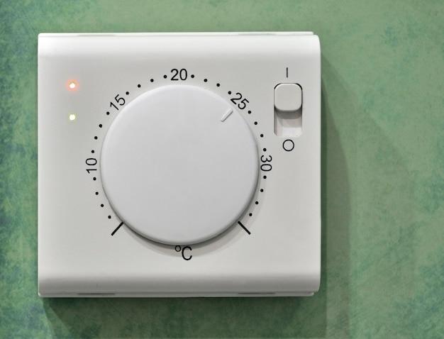 25c 도로 설정된 전기 온도 조절기