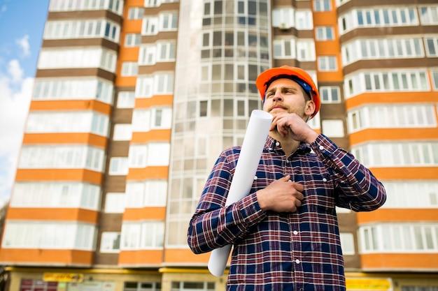 Электрик m работник человек строительство