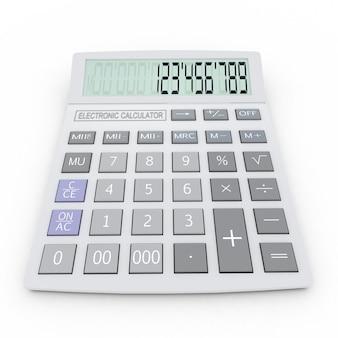 Электронный калькулятор 3d изолированные