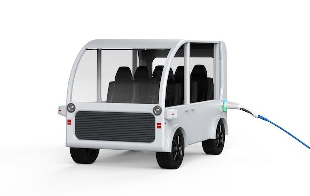 Электронный автомобильный заряд с электрической зарядной станцией