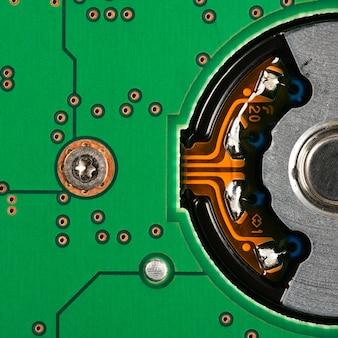 전자 회로 기판 배경