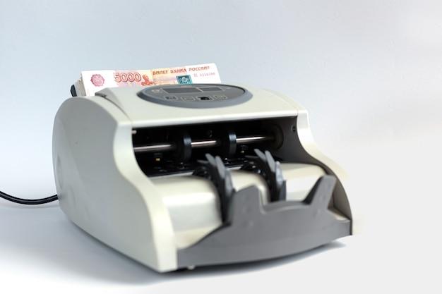흰색 절연 전자 통화 카운터