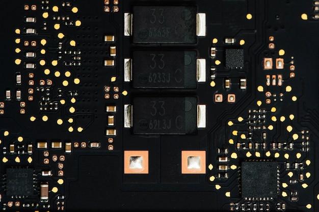 Electronic elements design