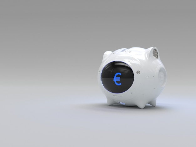 Electronic money piggy bank for digital currency