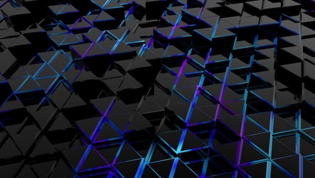 전자 삼각형