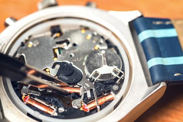 電子時計の修理
