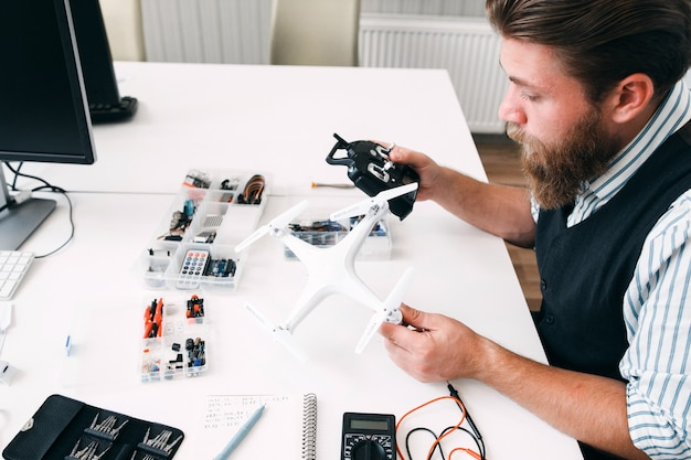 Electronics innovation aeromodelling technology hobby construction concept