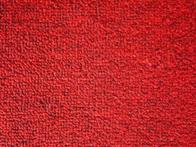 Elegance red color carpet texture background