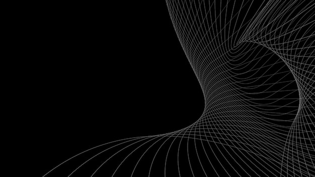 Elegant abstract background linear waves. lines background, minimalistic style