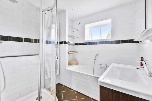 Элегантный дизайн ванной комнаты