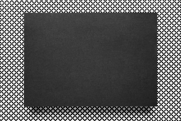 Elegant black wedding invitation card