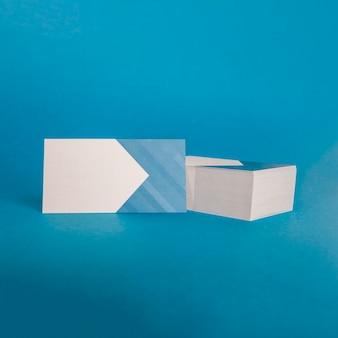 Элегантный макет визитной карточки