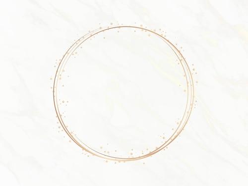 Elegant circle frame