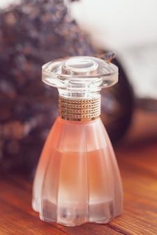 Elegant female perfume