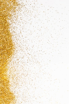 Elegant golden glitter background concept