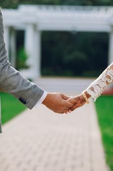 エレガントなインドの結婚式