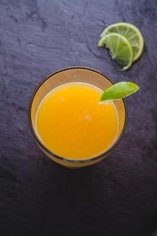 Elegant orange juice