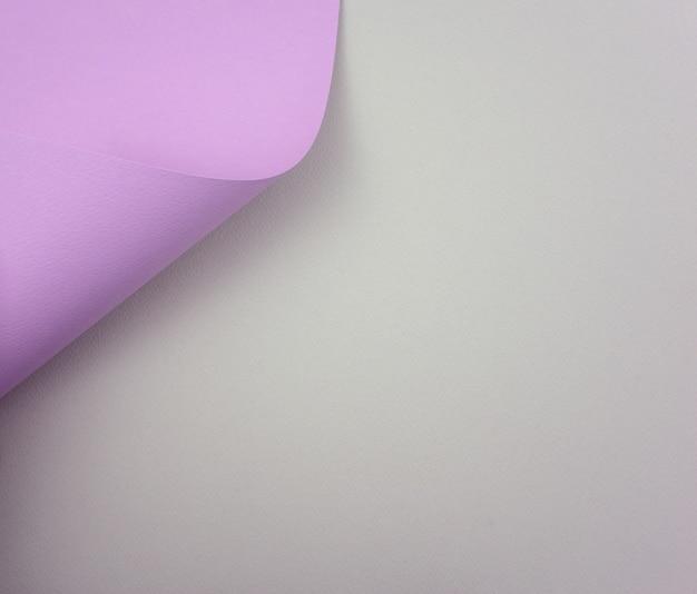 Elegant pastel purple on milky neutral gray paper. free or negative space.
