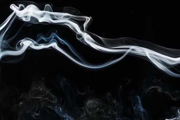 우아한 연기 바탕 화면 배경, 어두운 디자인