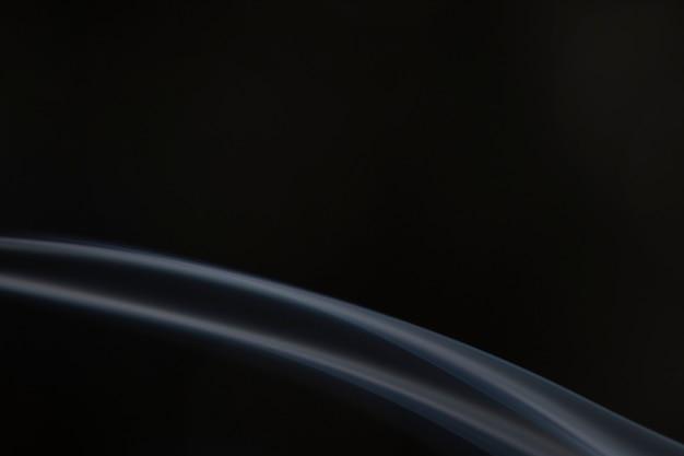 Elegante sfondo di carta da parati fumosa, design scuro