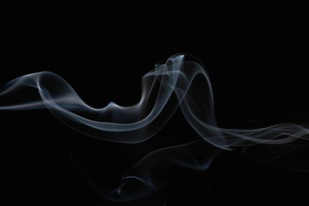 エレガントな煙の壁紙の背景、暗いデザイン