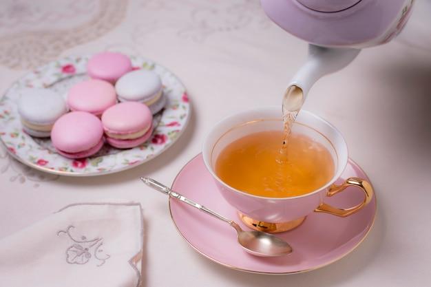 Elegant tea party arrangement