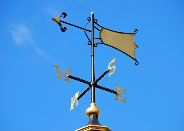 Elegant weathervane